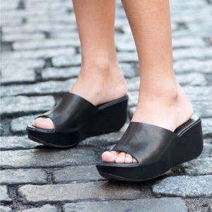 Kork-Ease Greer Sandal Slip on leather wedge